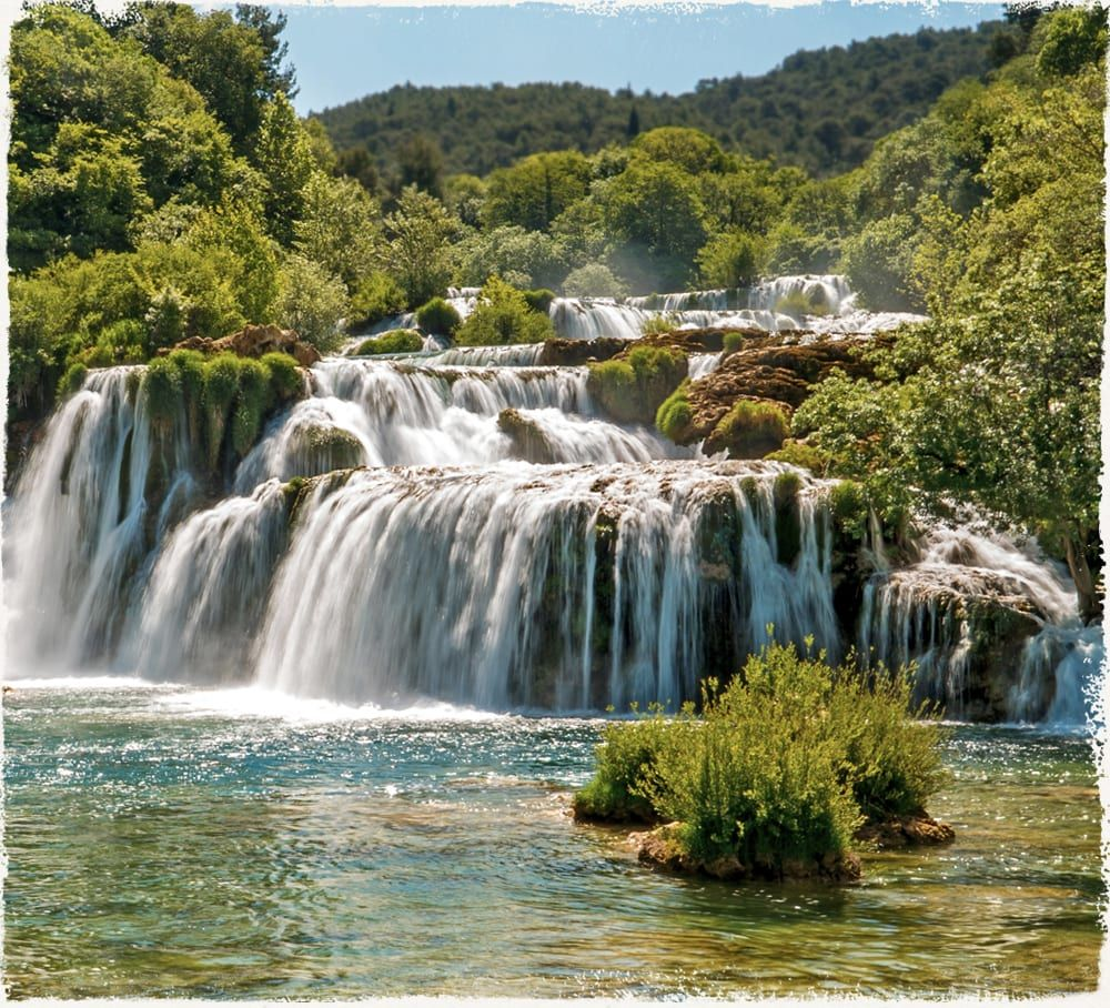 6. Walking - Tour Description - Krka Tours - One day trip to Krka